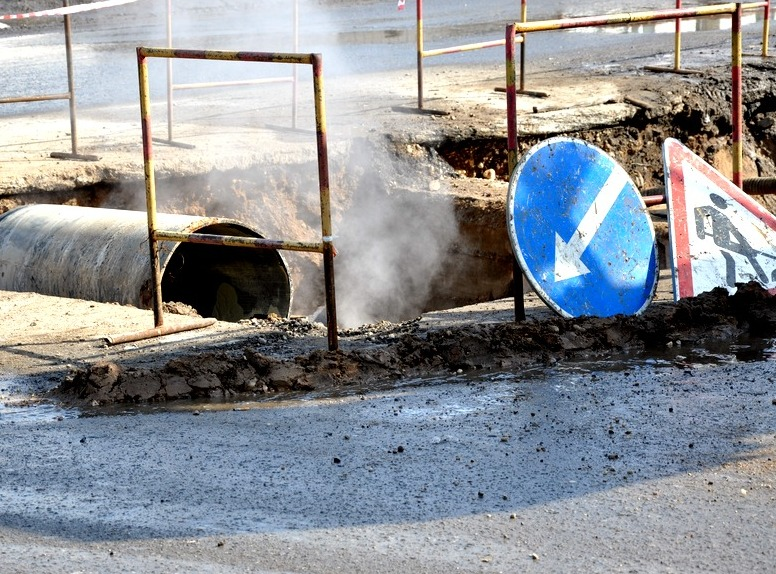 ВОренбурге ликвидируют трагедию наводоводе врайоне Соболевой горы