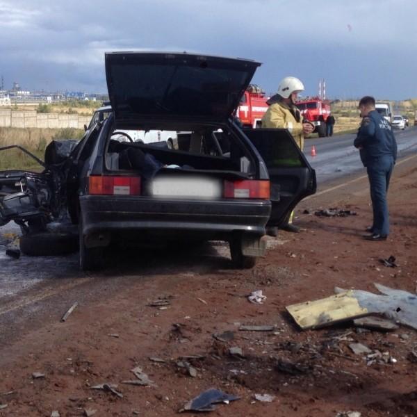 ДТП под Оренбургом: два человека пострадали встолкновении 3-х авто