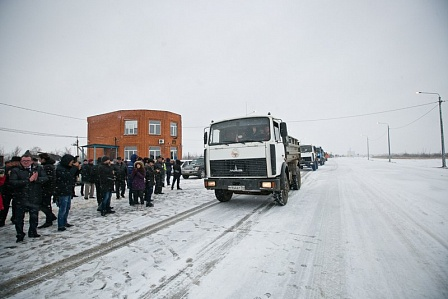Открыт участок дороги Р-239 Оренбург— линия сКазахстаном вОренбуржье