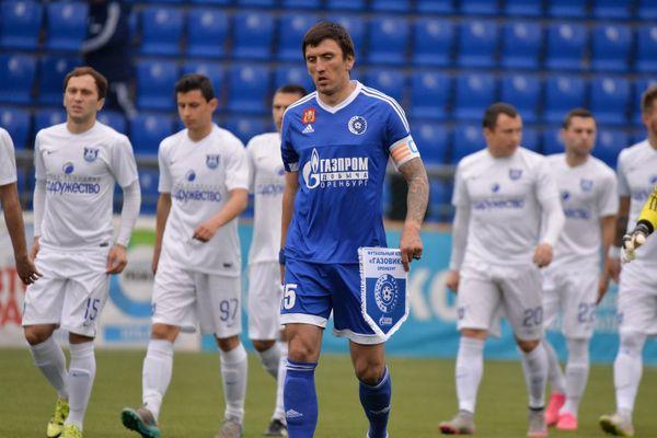 КапитанФК «Оренбург» Дмитрий Андреев стал лучшим игроком месяца вФНЛ