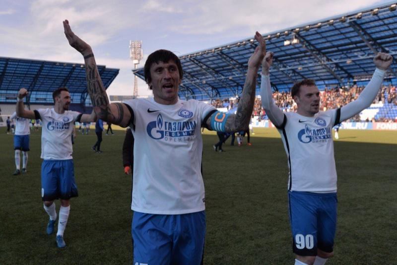 «Енисей» обыграл «Томь» вматче 34-го тура чемпионата ФНЛ
