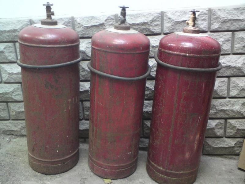 Как заменить баллон с газом
