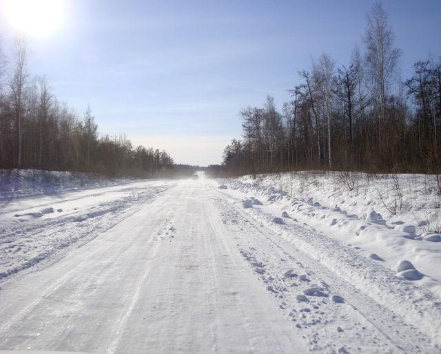 МЧС перекрыло дорогу Оренбург-Орск из-за метели