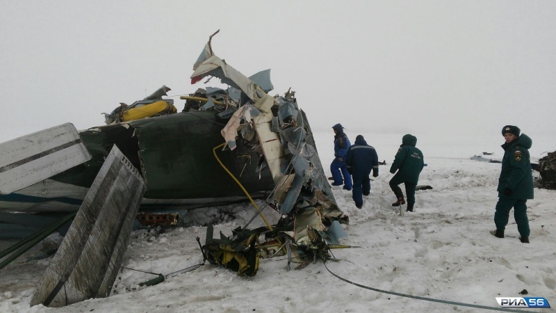 Стала известна причина крушения Ан-2 под Оренбургом