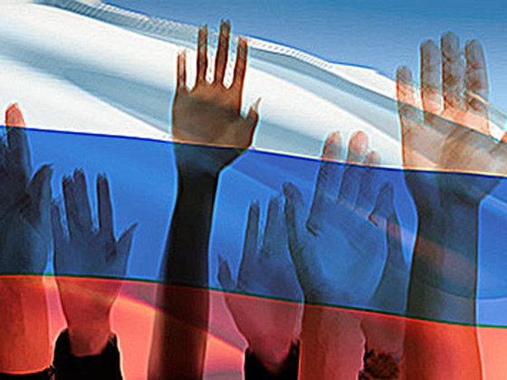 «Единая Россия» набирает неменее половины голосов— Выборы в Государственную думу