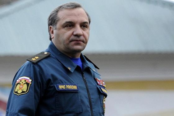 Владимир Пучков проинспектировал подразделения основного управления МЧС РФ поОренбургской области