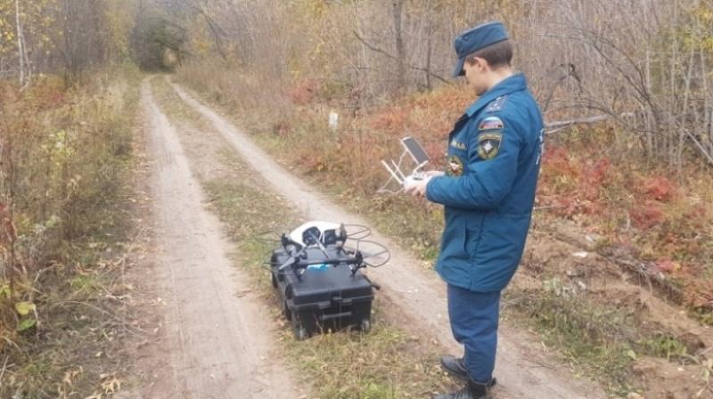 Впоисках пропавшего грибника оренбургские cотрудники экстренных служб обследовали 12 кв.км