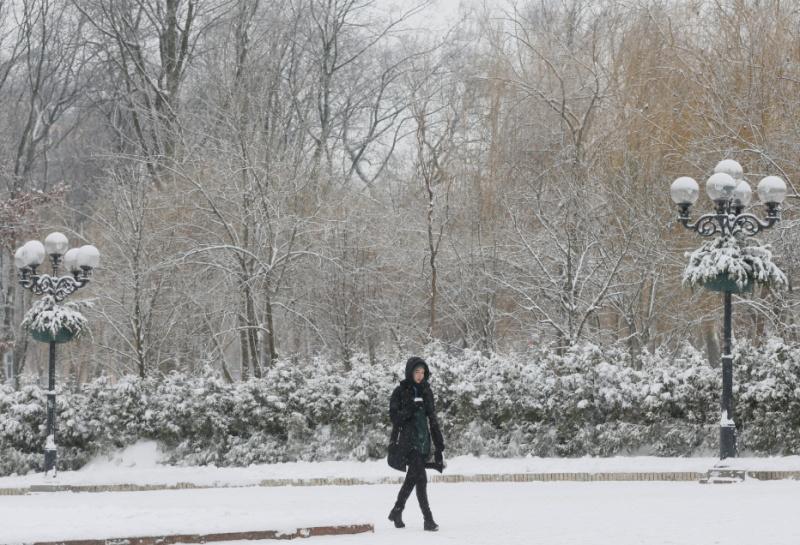 Ковер зимы покрыл холмы. Прогноз оренбургской погоды на 05.12.18 г.