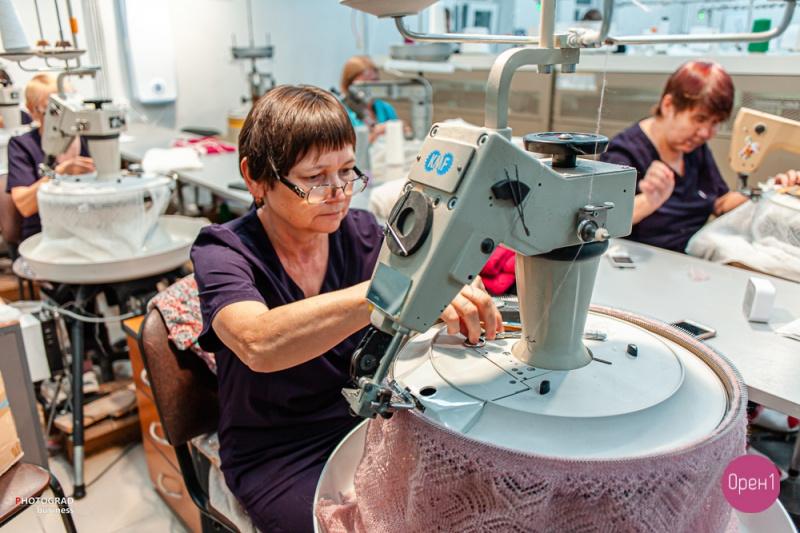 Как делают настоящий «Оренбургский пуховый платок», видео Орен1