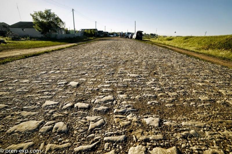 Царская дорога в Шарлыкском районе