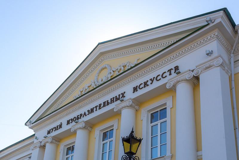 Музей ИЗО приглашает на открытие выставки «100 картин художников Оренбуржья»