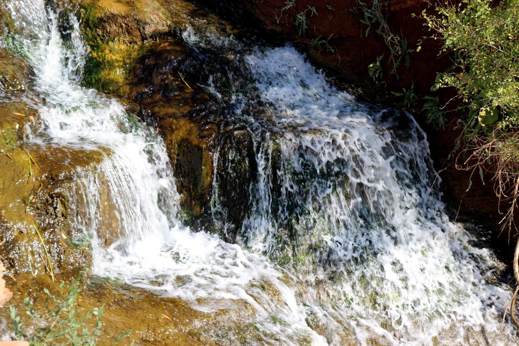 Приятно любоваться. Фотографии чернореченского водопада от Жанны Валиевой