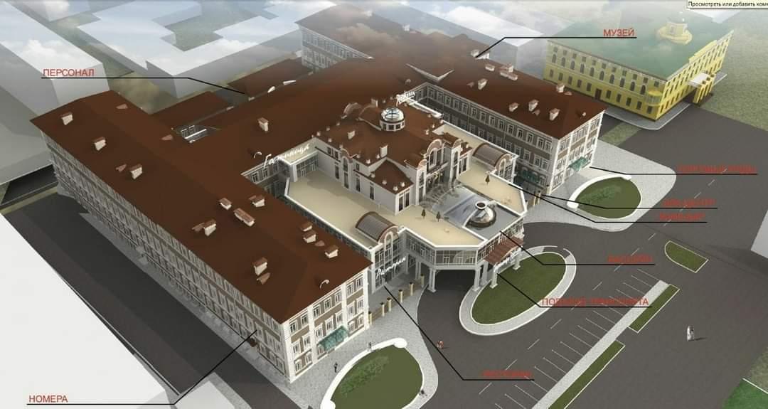 Дарья Беликова о проекте реконструкции здания летного училища в Оренбурге