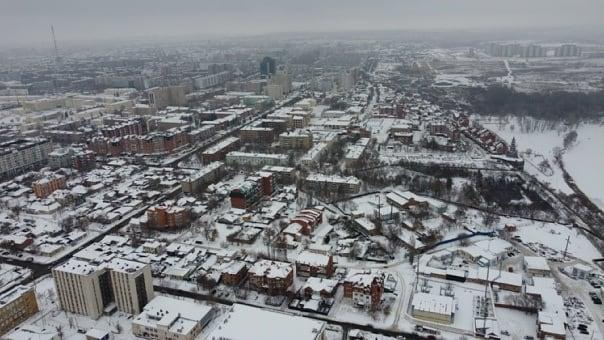 Полеты наяву. Оренбург в фотографиях Сергея Кутимского