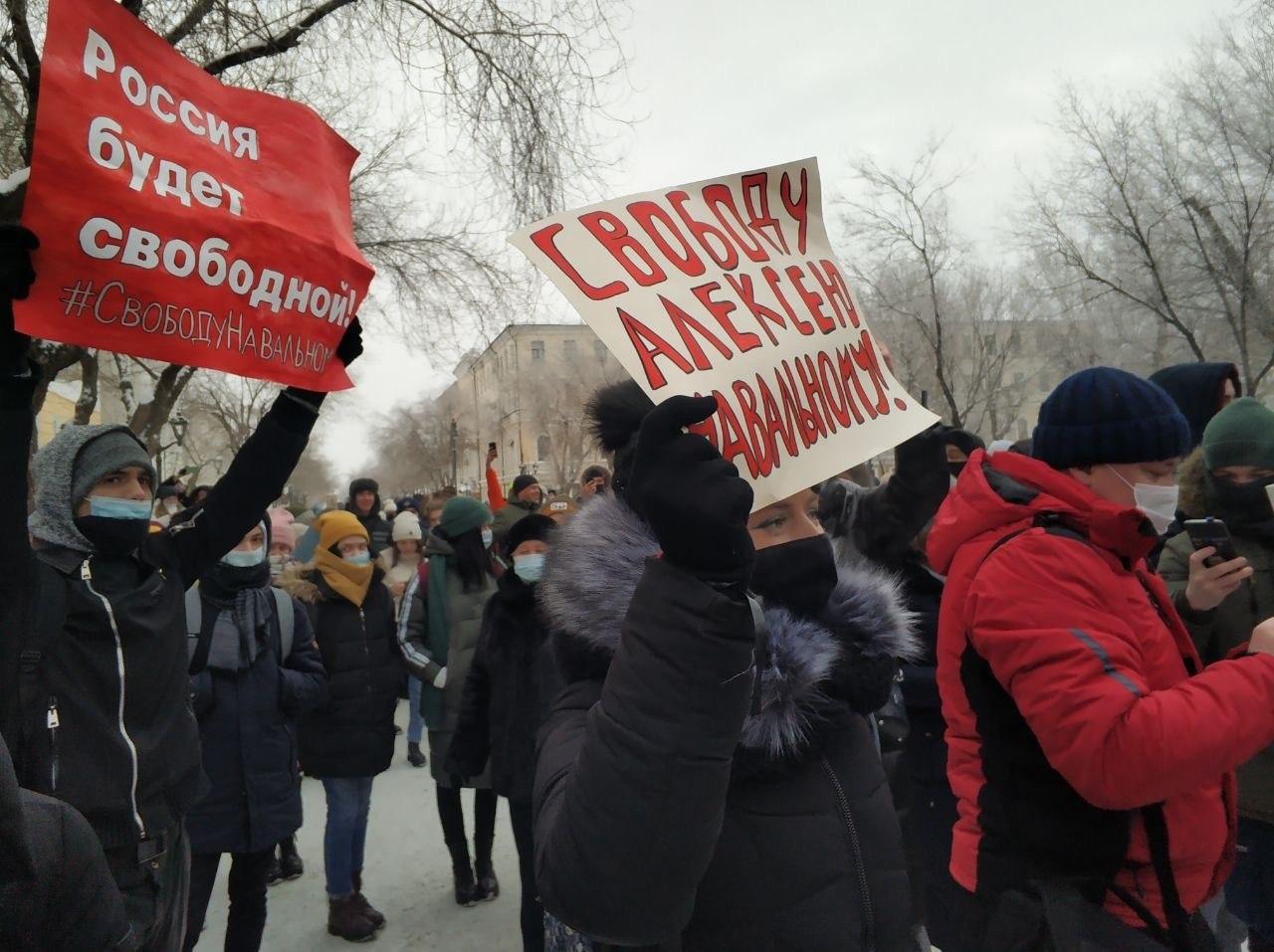 20 тысяч. Оренбурженку оштрафовали за призыв прийти на митинг