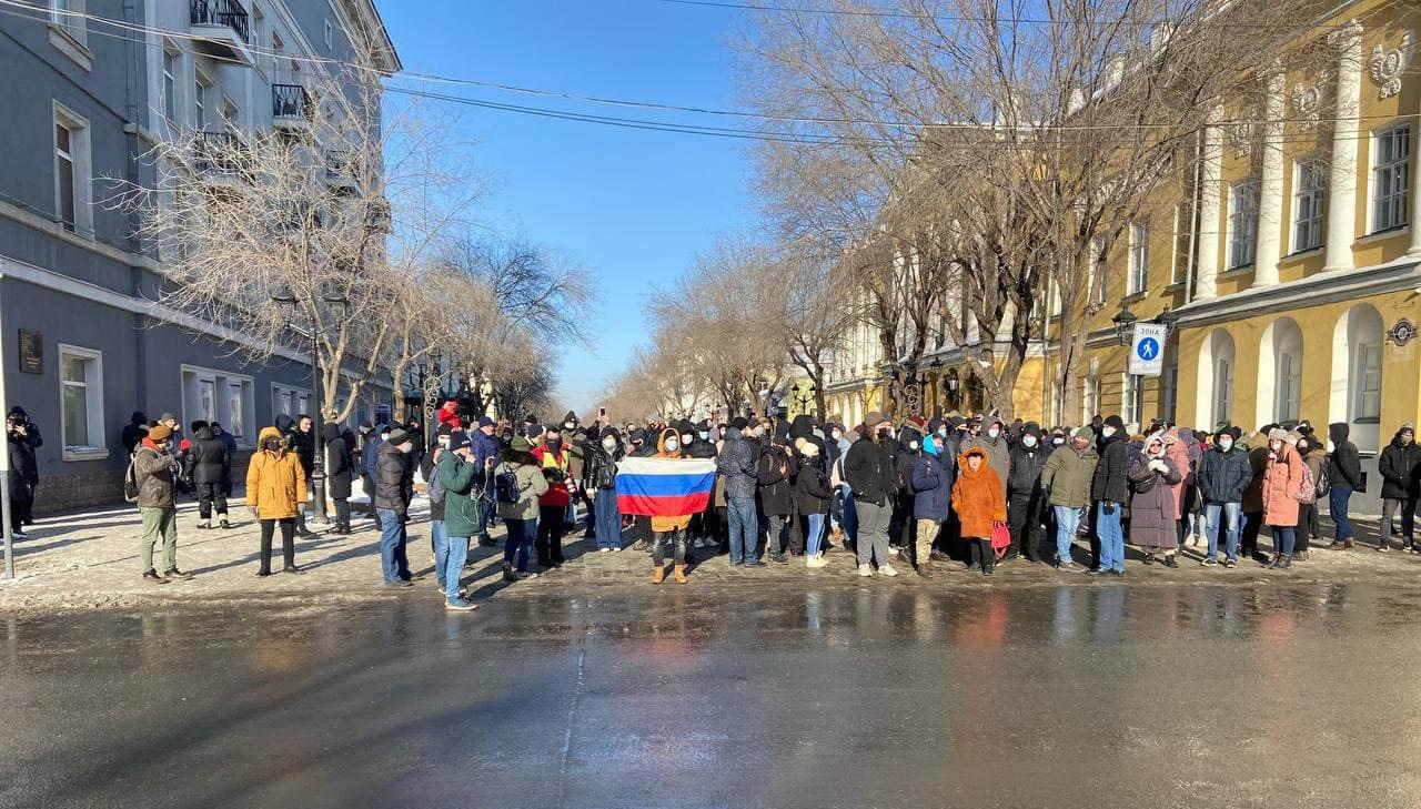 Сирена и немного робко: хроника безлидерного протеста