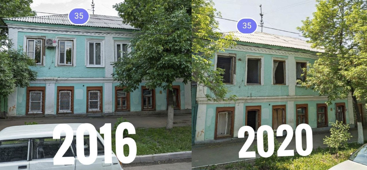 Проще снести. Телеграм-канал «Оренбург | архитектура и урбанистика» о ликвидации исторического дома