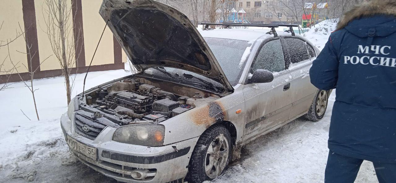 В Оренбурге неизвестные подожгли машину блогера Андрея Лысенко