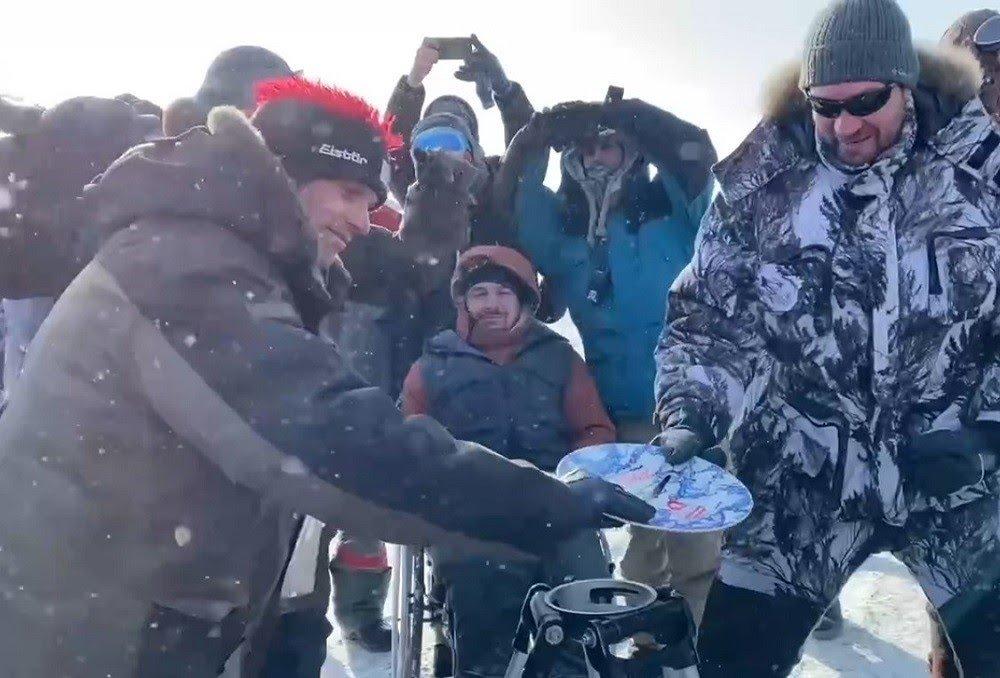 Съемочную группу фильма «Литвяк» спасли из снежного плена