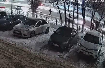 Полиция устроила перестрелку на улице Терешковой