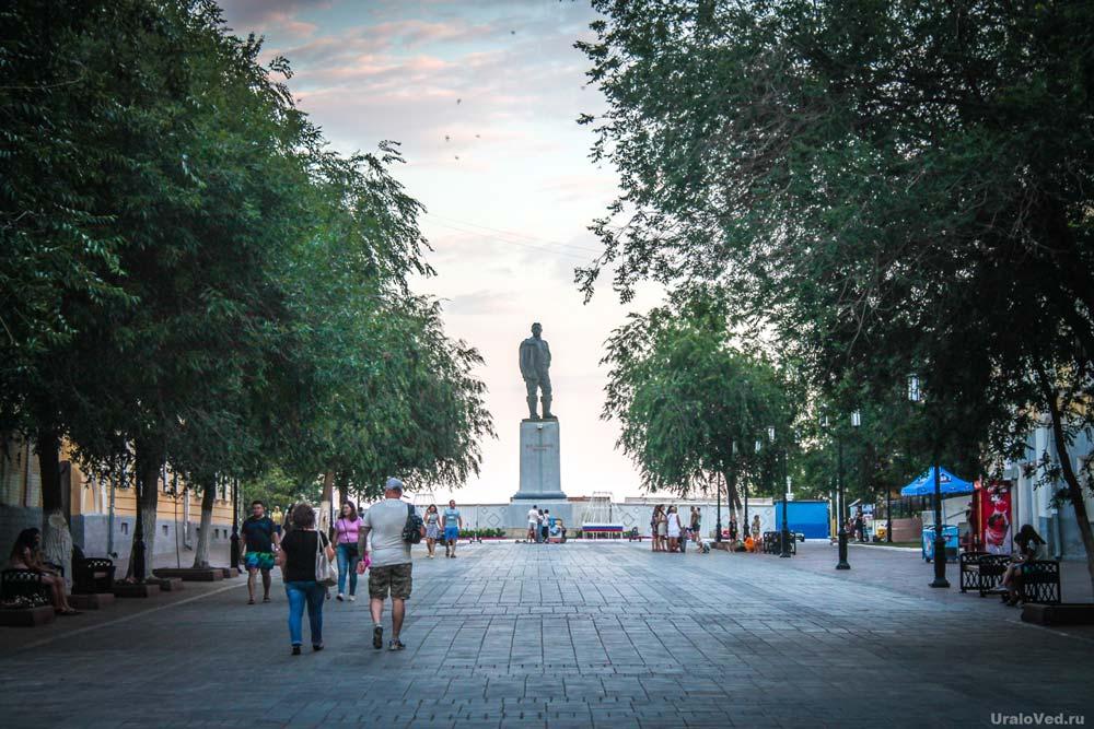 Жители Оренбурга примут участие в обсуждении благоустройства центра города