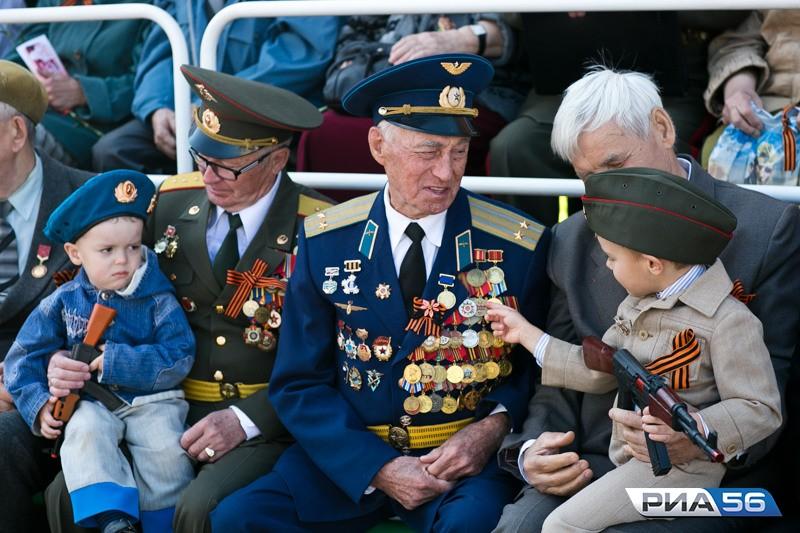 В Оренбурге День Победы отметят «на все деньги»