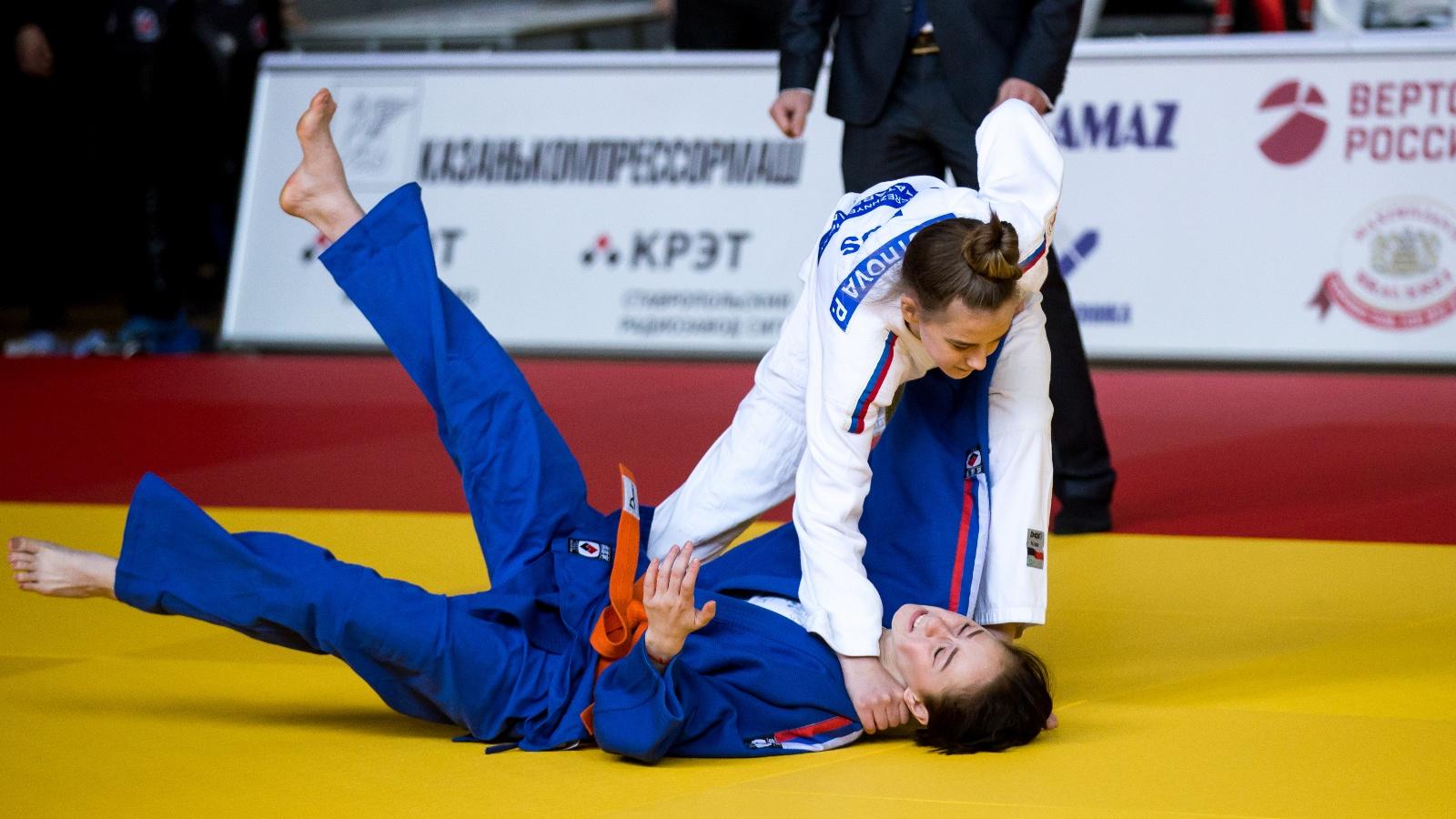 Оренбургская область примет Кубок Европы по дзюдо