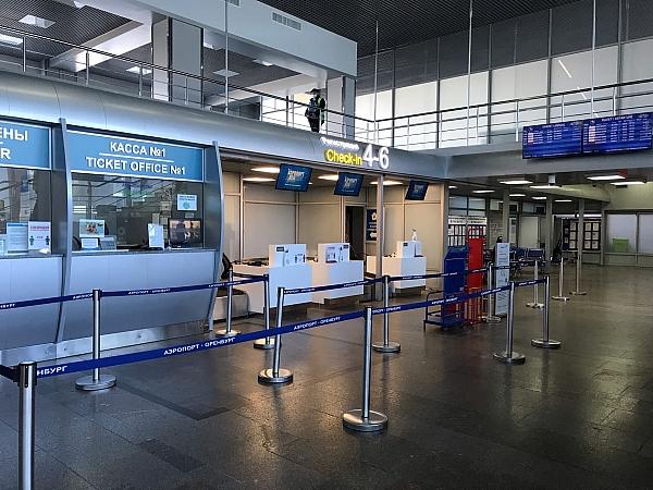 В оренбургском аэропорту обновили зону регистрации