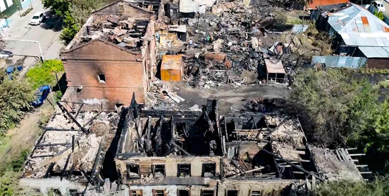 Архитектор Александр Алексеев разработал проект сквера на месте сгоревшего исторического квартала