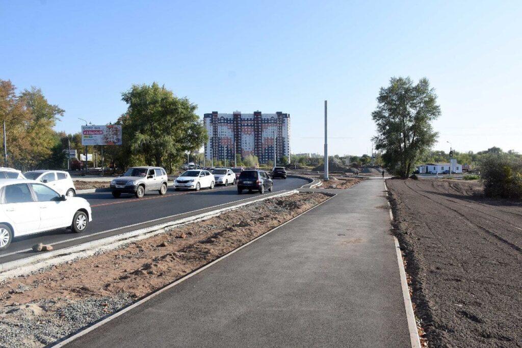 В Оренбурге открыли движение по кольцу пр. Победы и ул. Рокоссовского